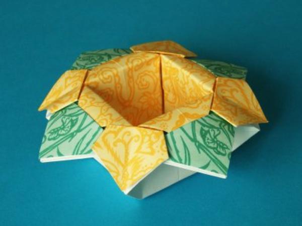 origami- schachteln-kreatives-design - foto vom nahen genommen