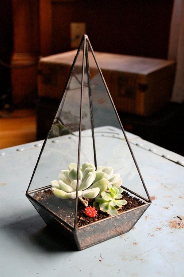 originelle-Glas-Deko-Ideen-Wohnzimmer