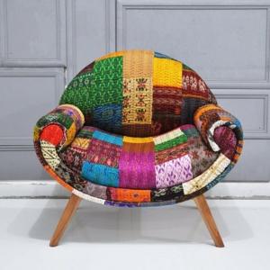 Patchwork Sessel - schöne Beispiele