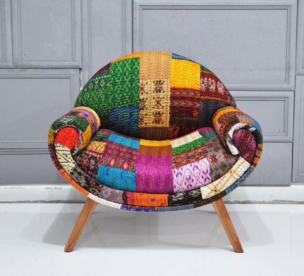 schönes-design-wohnidee-Sessel-Patchwork