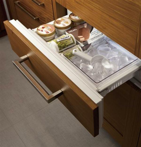 praktischer-Kühlschränke-mit-Schubladen-Gefrierschrank-Küche