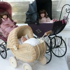 Puppenwagen - Korb - 24 super süße Modelle!