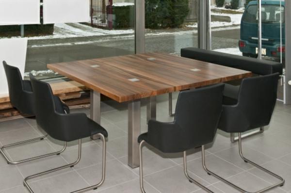 Quadratische Tische 31 Interessante Designs Archzinenet