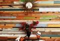 Originelle Dekoration aus Holzpalleten
