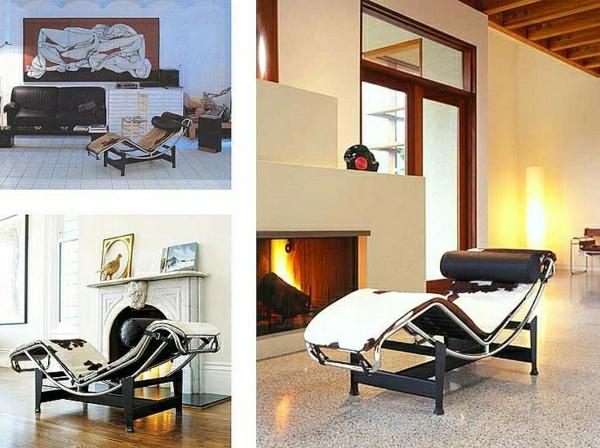 relax-liegestuhl-drei-schöne-fotos - ultramodernes design im wohnzimmer