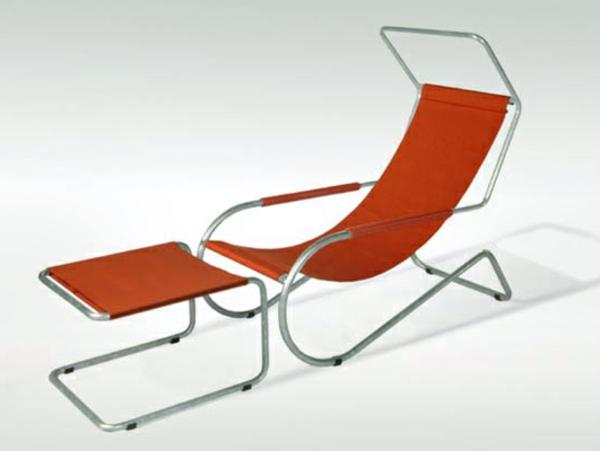 relax-liegestuhl-in-roter-farbe - aus zwei teilen