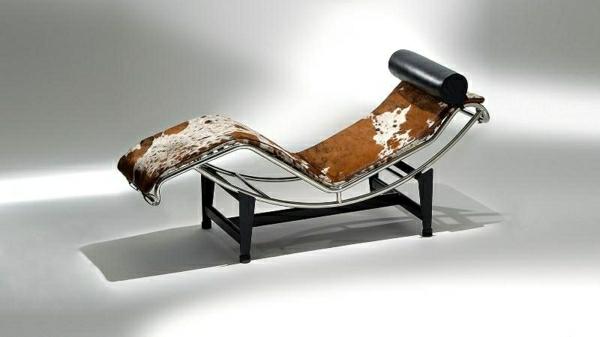 relax-liegestuhl - hintergrund in grau