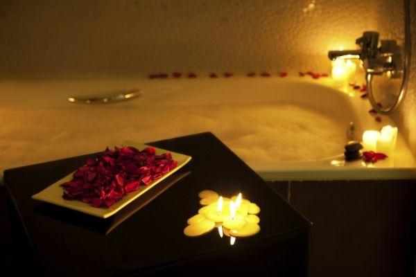 Romantik Merkmale Im Badezimmer