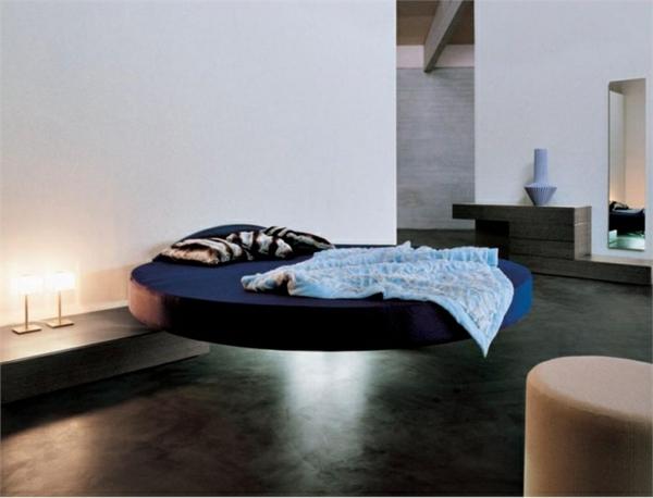 schwebendes bett moderne vorschl ge. Black Bedroom Furniture Sets. Home Design Ideas