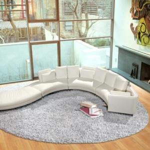 Runde Sofas - 23 interessante Designs!