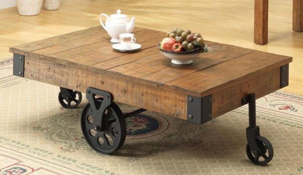 Holztisch Wohnzimmer Progo