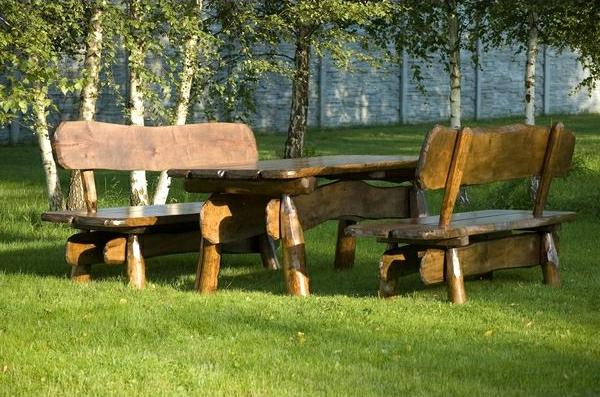 rustikale gartenmobel aus polen. Black Bedroom Furniture Sets. Home Design Ideas