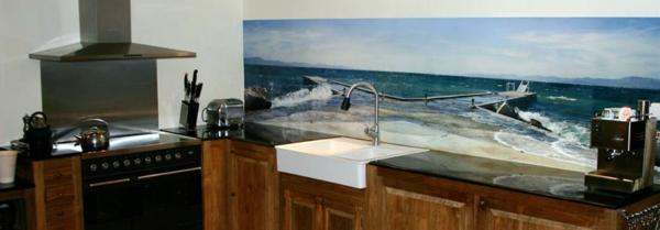 schön-wirkende-wandpaneele-für-küche- interessantes bild