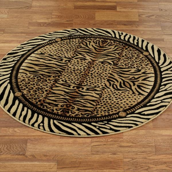 schöner-runder-teppich- interessantes design