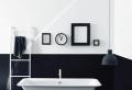 Einrichten mit Farben: Schwarze Wandfarbe und schwarze Möbel – doch existiert!