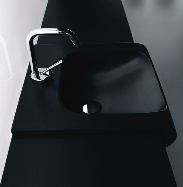 modernes-schwarzes-Waschbecken-moderne-badgestaltung