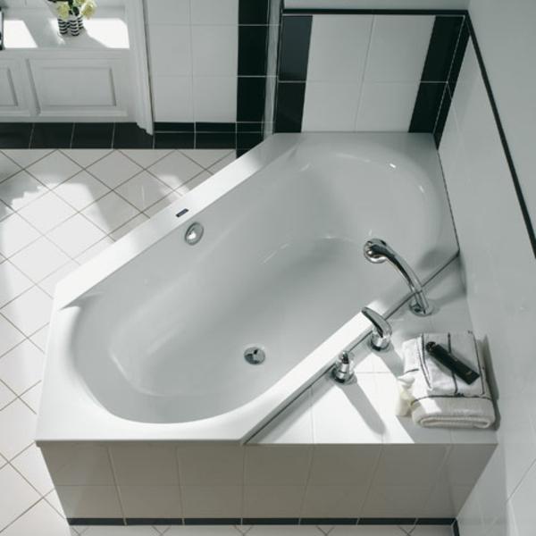 sechseck badewanne fliesen. Black Bedroom Furniture Sets. Home Design Ideas