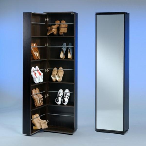 schuhschrank mit spiegelfront - sehr praktisch