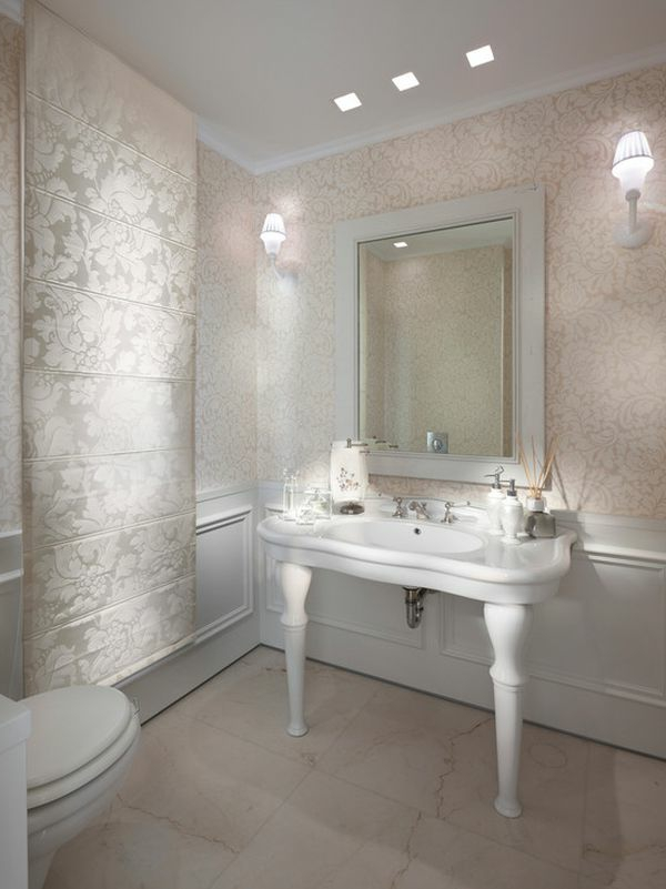 Silber farbe wand  Silberne Wandfarbe - 24 unglaubliche Bilder! - Archzine.net