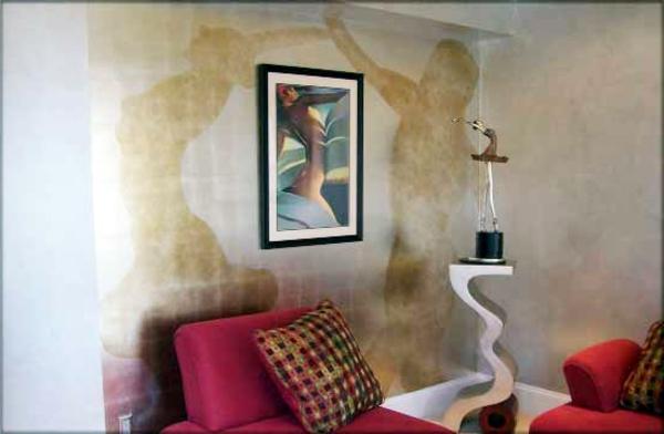 silberne-wandfarbe-schönes-schlafzimmer
