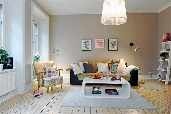 Skandinavisches Design Das Perfekte Wohnzimmer  Super Kissen