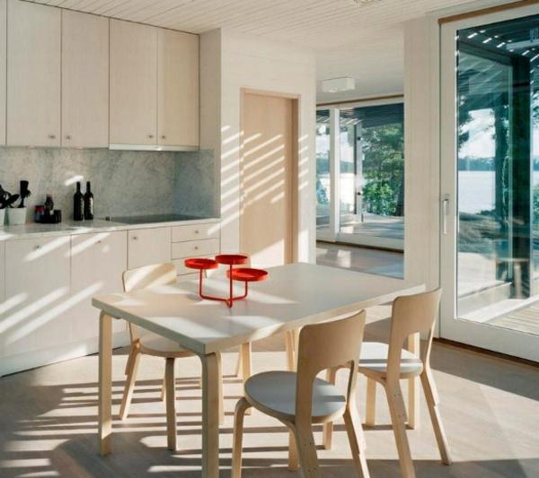 skandinavisches-design-esszimmer-sehr-schöne gestaltung