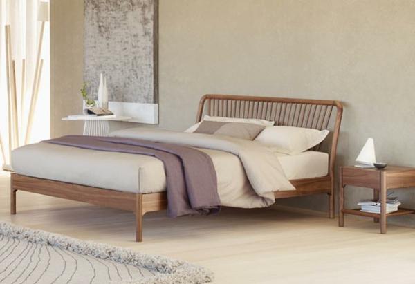 skandinavisches-design-für-ein-schönes-schlafzimmer- schlichte gestaltung