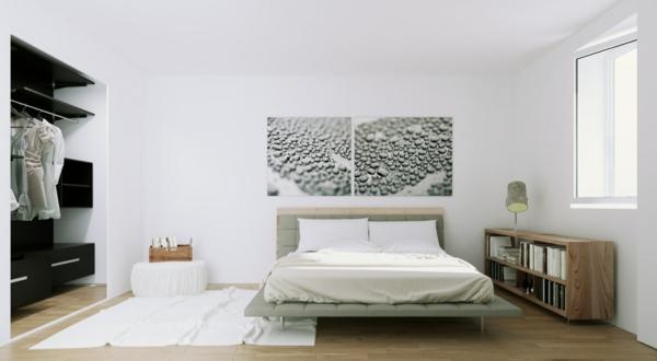 Skandinavisches design 61 verbl ffende ideen for Skandinavisches schlafzimmer