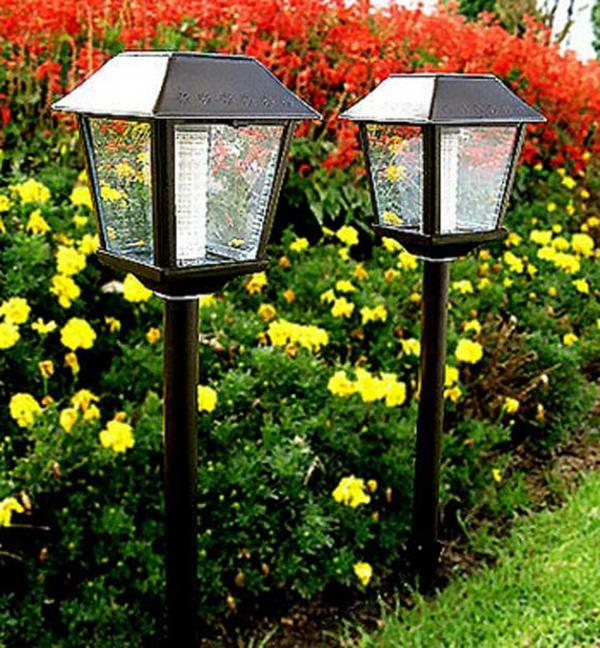 Solar Gartenleuchten - kreative Ideen