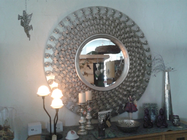 Runde Spiegel barock spiegel mit silberrahmen es lohnt sich archzine