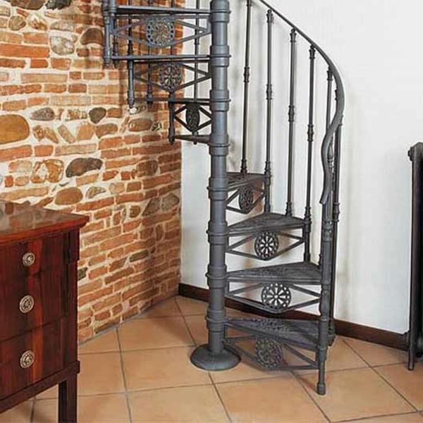 Platzsparende Treppen