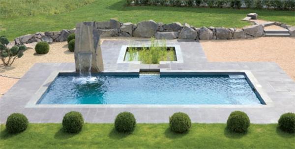 Garten mit pool gestalten  Effektvolle Poolgestaltung im Garten - Archzine.net