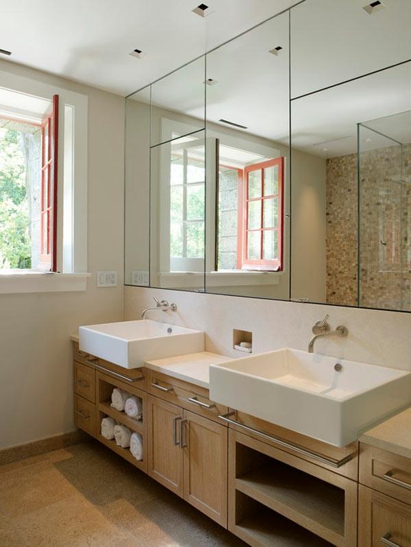 spiegel badezimmer super groaer im badezimmerspiegel mit led beleuchtung