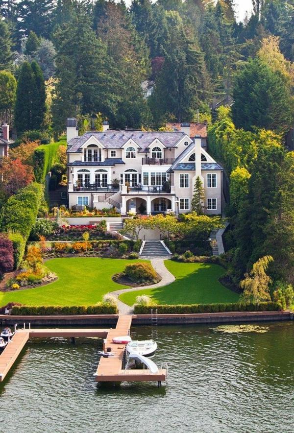 super-luxus-häuser-architekturidee-teich