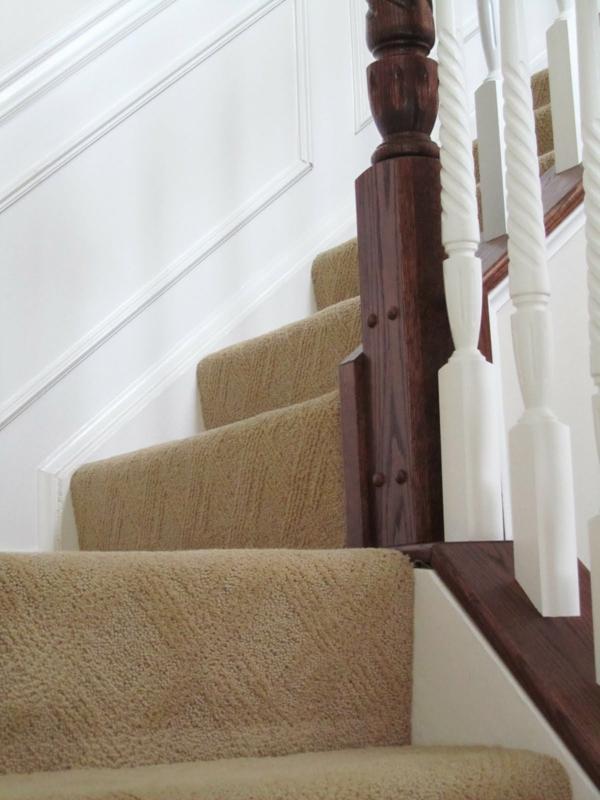 Der perfekte treppen teppich 30 prima modelle - Teppichfliesen fur treppenstufen ...