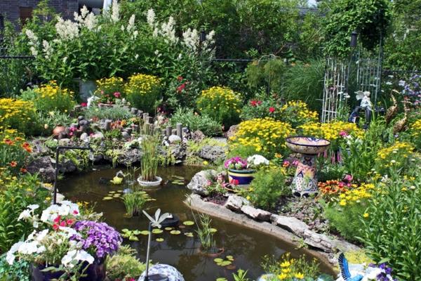 Teich bepflanzen 65 super ideen - Gartenteich gestaltungsideen ...