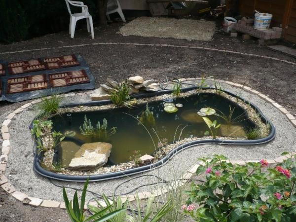 Teich Bepflanzen Anleitung Gartenteich Mit Bepflanzung With Teich