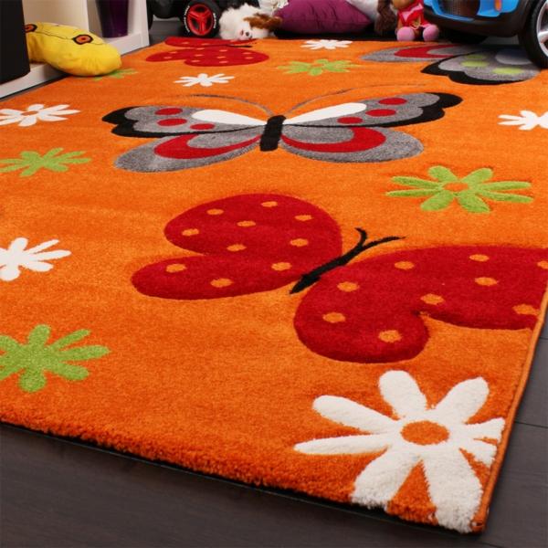 teppich-schmetterling-in-orange-farbe