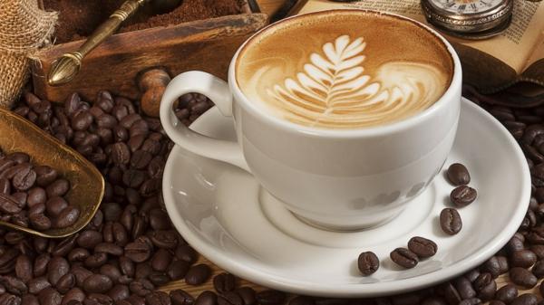 baum-blatt-aus-kaffeeschaum