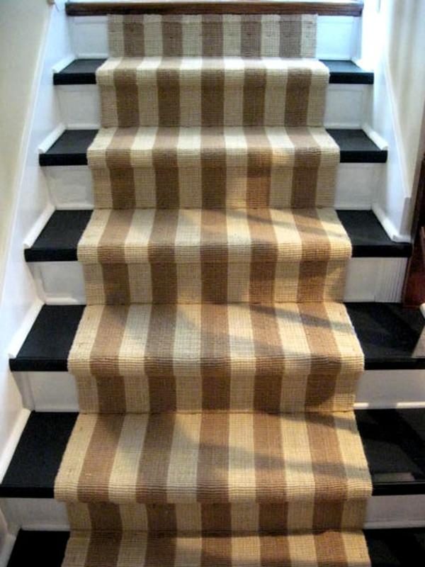 der perfekte treppen teppich 30 prima modelle. Black Bedroom Furniture Sets. Home Design Ideas