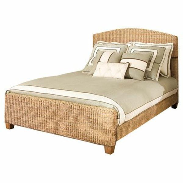 schönes-tropisches-Bett-Bett-Bananenblatt