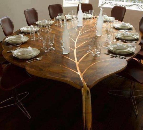 Designer Glass Kitchen Table