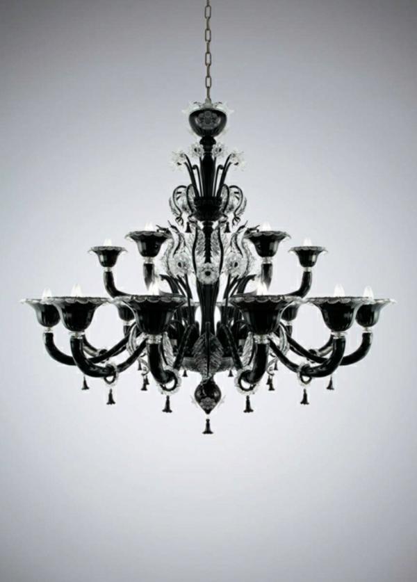 venezianischer-schwarzer-Kronleuchter