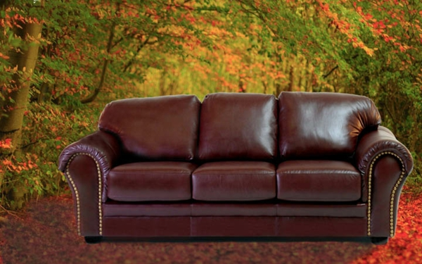 vintage-ledermöbel-ein-schönes-sofa- interessanter hintergrund