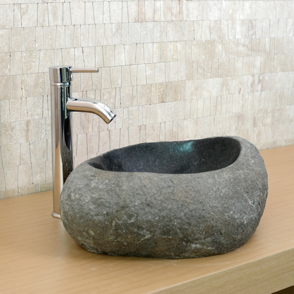 20 ideas for natural stone sinks!