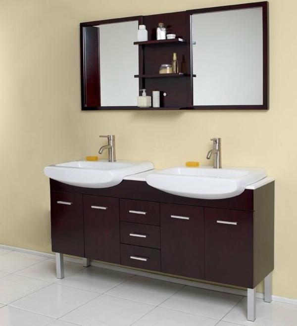 neues-waschbecken-mit-holzunterschränken-badezimmer