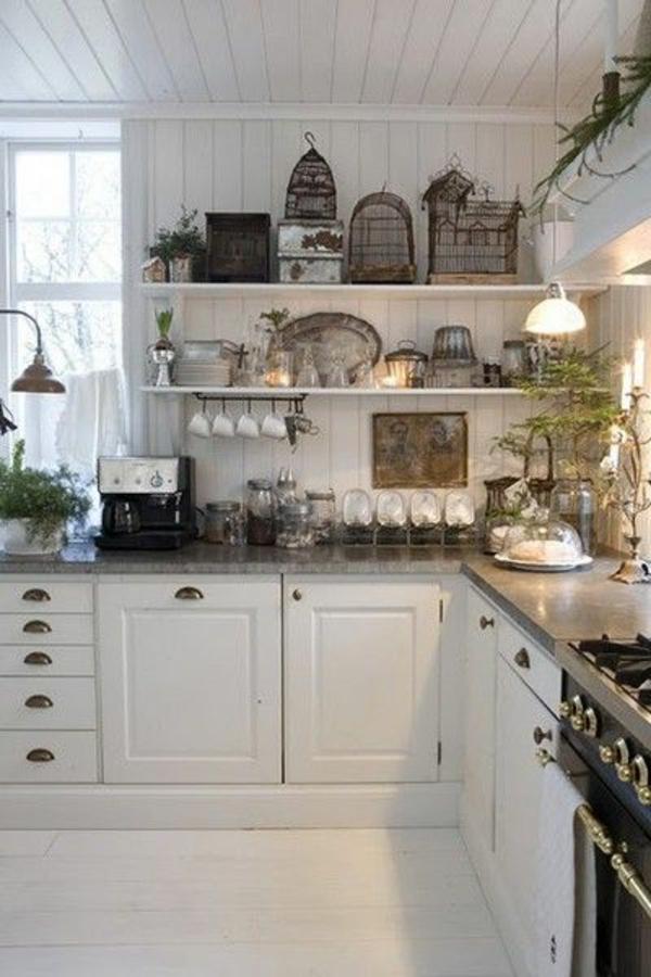 vintage m bel weiss gr n. Black Bedroom Furniture Sets. Home Design Ideas