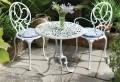 Gartenstühle aus Metall – 33 Vorschläge