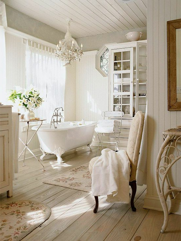 French Country Style Bathroom Ideas