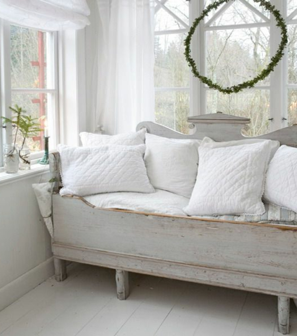vintage m bel weiss wohnzimmer. Black Bedroom Furniture Sets. Home Design Ideas